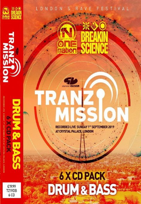 Tranz-Mission - 2019 - DNB - CD pack
